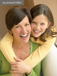 photo of mother and daughter
